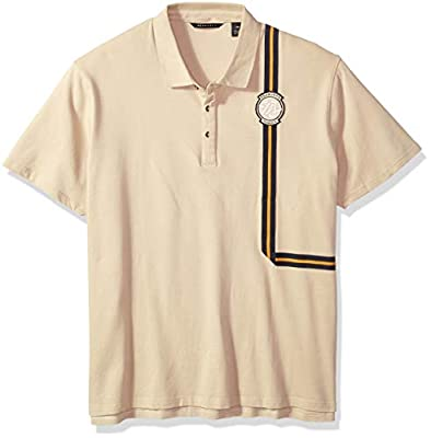 Sean John Men's Short Sleeve Polo