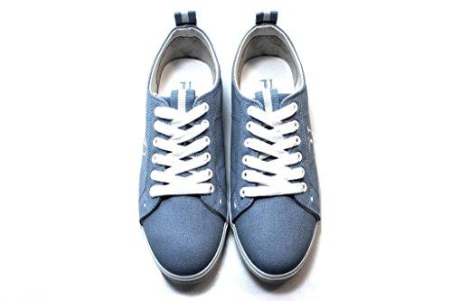 Shoe Jeans Trussardi 79s083 Sneakers Azure nbsp;blue Sport Women zdqvYdw