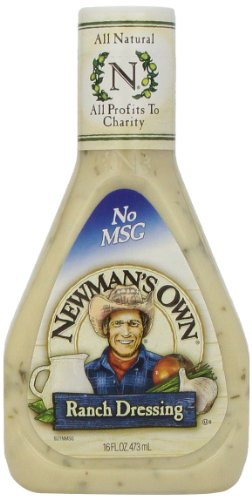 Newmans Own Ranch - Newman's Own Salad Dressing Ranch, 16-Ounce (Pack of 3)