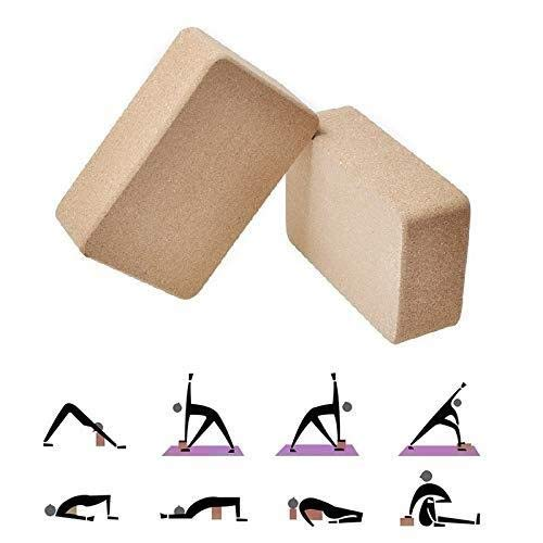 Corcho Bloques De Yoga Gimnasio De Alta Densidad For ...