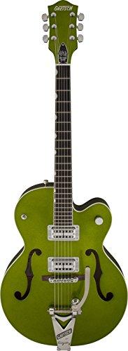 Gretsch Guitars G6120SH Brian Setzer Hot Rod Semi-Hollow Electric Guitar Green Sparkle