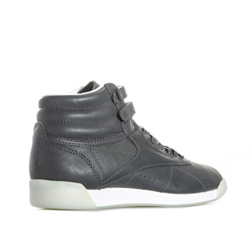 Mode Grey Reebok Baskets Gris Freestyle Face Hi Femme 35 qC1Yq8