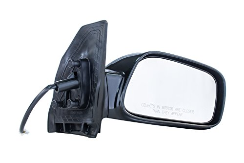 Passenger Side Mirror for Toyota Corolla CE (2003 2004 2005 2006 2007 2008) Smooth Black Power Adjusting Non-Heated Non-Folding Outside Right Rear View Replacement Door Mirror