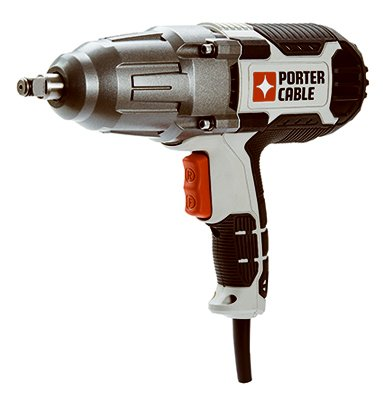 PORTER-CABLE PCE210 Impact Wrench with Hog Ring Anvil, 1/2-Inch