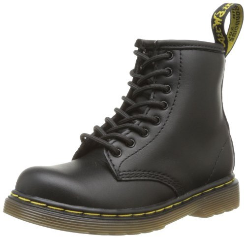 Dr. Martens Brooklee Boot (Toddler),Black Softy,8 UK (9 M US Toddler)