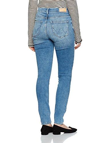 Best Blue Donna Best Rise Skinny High Wrangler Blue Jeans Blu Yzq88a