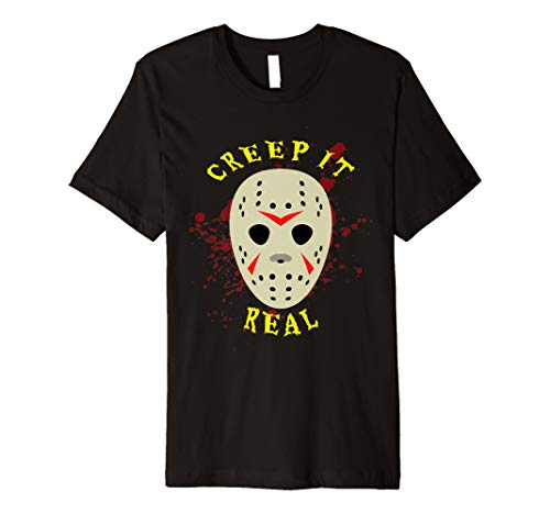 Creep It Real Hockey Mask Jason T Shirt Child Jason Hockey Jersey