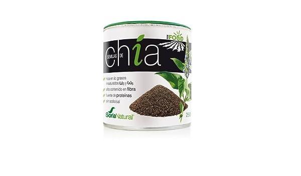 Soria Natural Semillas de Chia Superalimentos - 250 gr: Amazon.es ...