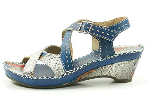 08 CX9901 Daphne 8 Femme Laura Mode Vita Blau Sandales Rxgq57w
