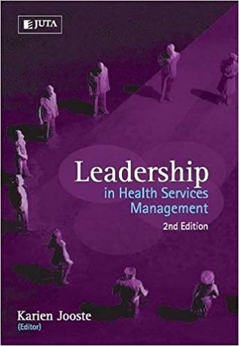 Book Leadership in Health Services Management