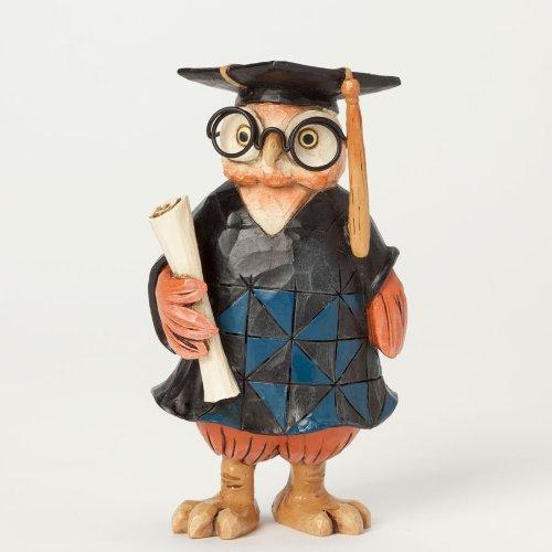 (Jim Shore Special Occasions Miniature Graduation Owl Figurine 4039477 New Mini)