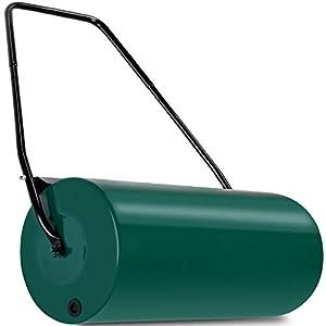 Deuba Gardebruk Rullo da Giardino 60 cm Ø33 cm capacità di riempimento 48 L Apertura Laterale raschiatore antisporco… 41nQDf0R7ML. SS300