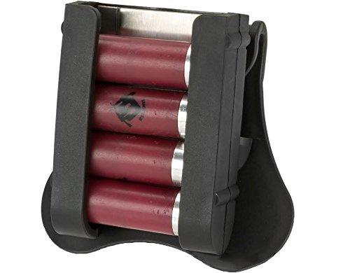 Ultimate Arms Gear 12 Gauge Shotgun Shell Cartridge Holder/Speed Loader Belt Paddle Beretta 12GA (Shotgun Speedloader)