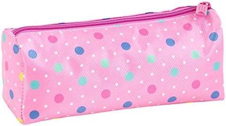 Safta Estuche Escolar Safta Dots Pink Oficial 210x70x80mm: Amazon.es: Oficina y papelería
