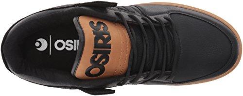 Zapatillas Osiris: Protocol BK/BK/WH Black/work