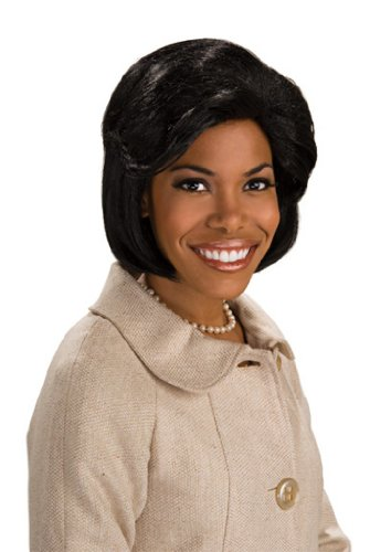 Character Wig, First Lady Wig (Michelle And Barack Obama Costumes)