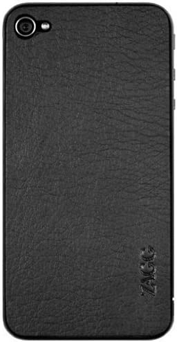 All stores are sold LeatherSkin for iPhone Branded goods 4 Black Plain Pack 1 Screen - Protector