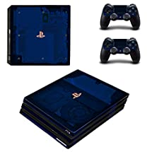 Adventure Games PS4 PRO - 500 Million Sold, Limited Edition - Playstation 4 Vinyl Console Skin Decal Sticker + 2 Controller Skins Set