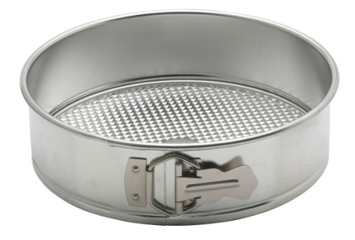 ng 93227 Anderson's Springform Pan, Waffle Bottom, Tinned Steel, Round, 9-Inches, Charcoal ()