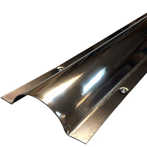 Large Stainless Steel Wire Guard Surface Raceway - Channel Size: 2.1''W x 0.65''H'' by Electriduct (Image #1)