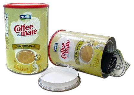 Jumbo Sized Coffee-Mate Diversion Can Safe #6232 by Bewild