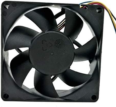 10pcs 80mm fan For AVC DATB0825B2S 8025 DC 12V 0.84A PWM speed winds cooling fan