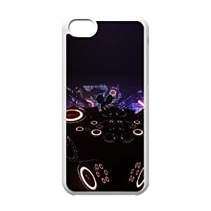 Deadmau5 Led Cube iPhone 5c Cell Phone Case White DIY Present pjz003_6537697