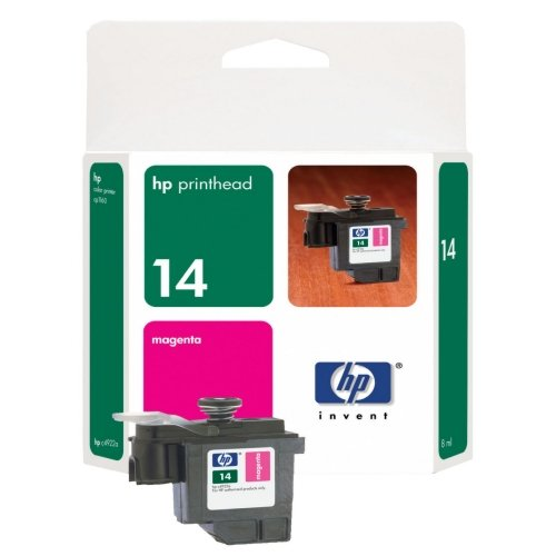 HP 14 OEM Magenta Printhead, Manufactured By HP - 30,000 Pages (C4922A)