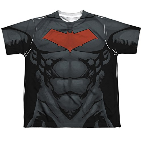 Youth: Batman- Red Hood Logo Costume Tee Kids T-Shirt Size YL]()