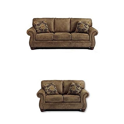 Amazoncom Signature Design By Ashley 2 Pc Larkinhurst Sofa Set