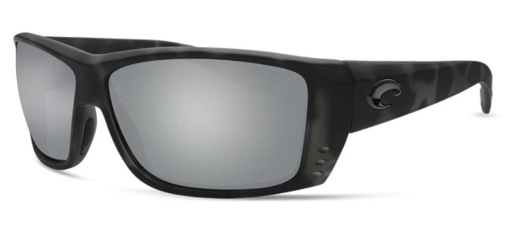 8fa04c06d6ab Amazon.com: Costa Del Mar Cat Cay Sunglasses Ocearch Matte Tiger Shark/Gray  Silver Mirror 580Glass: Sports & Outdoors
