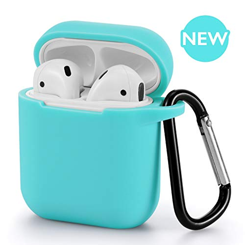 for AirPods Case – BLUEWIND 2019 Newest 360°Protective Silicone AirPods Case Cover Compatiable with Apple AirPods 1st…