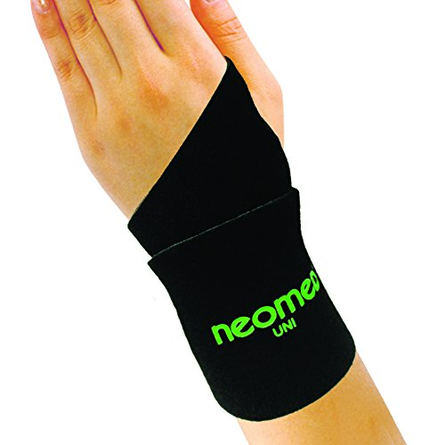 [NEOMED] Neo Wrist Freedom: [Black] UNI Size Hi-Prene Fabric, Thumb Loop Design. Provide great support for Wrists;Wrist Support for Pain Relief - Amazing Result in one day by Neomed