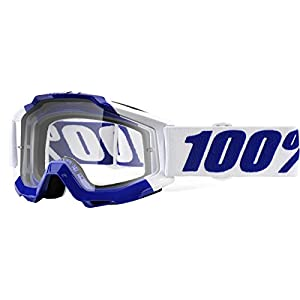 100% Accuri Adult Off-Road Goggles - Calgary/Clear Lens/One Size