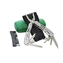 """T-130 aka """"The Transformer"""" 12-in-1 Stainless Steel Multi-tool Set with Screwdriver Kit"""