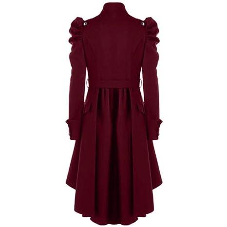 Amazon.com: Clearance Overcoat COPPEN Christmas Women Vintage Steampunk Long Coat Gothic Ladies Retro Jacket: Musical Instruments