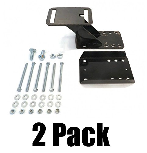 The ROP Shop (2) SPARE TIRE WHEEL MOUNT KITS Heavy Duty Holder Bracket for 6 & 8 Lugs 27021 by The ROP Shop