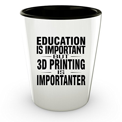 3D PRINTING Shot Glass - Good for Gifts - Unique Coffee Cup