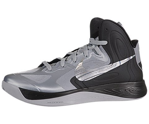 Galleon - Nike Men s NIKE HYPERFUSE BASKETBALL SHOES 12 (WOLF GREY METALLIC  SILKVER BLCK) cc1509d39