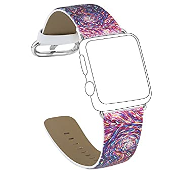 Apple Watch Band Wristband Strap Replacement Band 42mm for Apple Watch Apple Watch Wristband with Stainless Metal Clasp for apple watch Series 2, Series 1, Sport, Edition