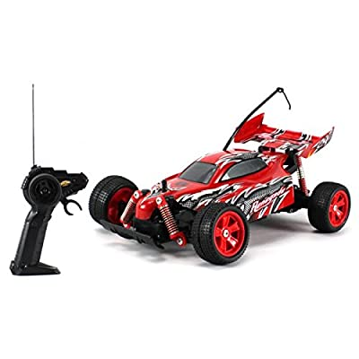 Mean Machines Build Your Own Baja R/C Car Red: Toys & Games