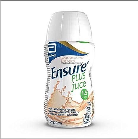 ENSURE Plus Juice Melocotón, 1320 ml: Amazon.es: Salud y ...