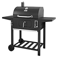 """Enjoy the delicious aromas when you cook with this Royal Gourmet charcoal grill. You will have enough space to grill anything with a 393 square"""" Primary cooking area, Plus a secondary cooking space 205 square"""". This charcoal grill features po..."""