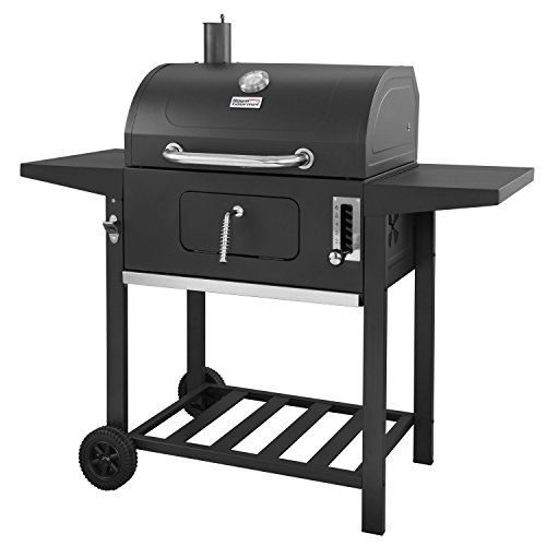 Royal Gourmet 24 Inch Charcoal Grill,BBQ Outdoor Picnic,Patio Backyard Cooking,Black For Sale