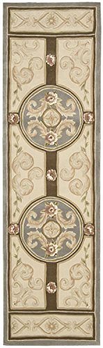 Nourison Versailles Palace (VP48) Blue Runner Area Rug, 2-Feet 3-Inches by 8-Feet  (2'3