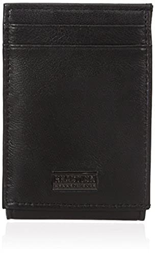 03. Kenneth Cole REACTION Men's RFID Blocking Slim Nappa Front Pocket Wallet