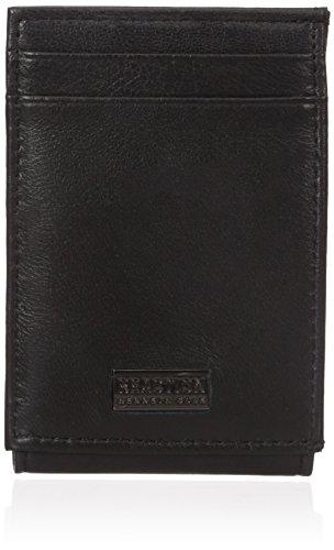 Kenneth Cole REACTION  Men's  RFID Security Blocking Front Pocket Wallet,Black