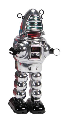 Schylling Chrome Planet Robot