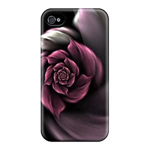 Hot PYN7311uXja Lavender Rose Cases Covers Compatible With Iphone 6