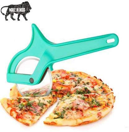 JIVANI BROTHERS Plastic Pizza/Sandwich/Burger/Slicer/Multipurpose Cutter for Home, Kitchen, Restaurant roll Cutting Wheel Across,Easy to Clean C Wheel Pizza Cutter(Multicolor) Price & Reviews